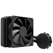 Asetek 550LC 120mm Liquid Cooling System-Standard 120mm Fan [X299]