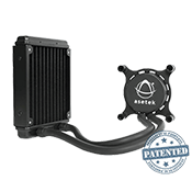 Asetek 550LC 120mm Liquid Cooling System-Standard 120mm Fan