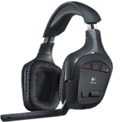 Logitech G930 Wireless Gaming Headset-Dolby® 7.1 Surround Sound; 3 programmable G-keys