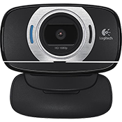 Logitech C615 USB 2.0 HD Webcam-1080p + 8.0 Megapixel