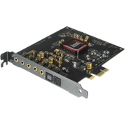 Creative Sound Blaster Z [PCIE] -- 5.1 Channels, 192KHz/24-bit