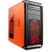 Corsair Graphite Series 230T Gaming Case-Orange