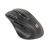 Logitech G700s Laser Gaming Mouse-Up to 8200 DPI; Wired or rechargeable wireless