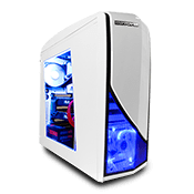 NZXT Phantom 240 Gaming Case-White