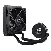Corsair Hydro Series H55 120mm Liquid CPU Cooler (Revolt)-Standard 120mm Fan
