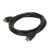 6.6 ft. Braided HDMI to HDMI Cable-Shielded Cable for maximum interference rejection; 4K resolution ready