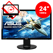 "24"" [1920x1080] ASUS VG248QE LED 3D Monitor -- 1ms response time + 144Hz refresh rate-Single Monitor"