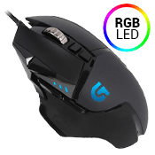 Logitech G502 HERO High Performance Gaming Mouse-up to 16,000 DPI, 11 Customizable Buttons