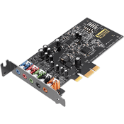 Creative Labs Sound Blaster Audigy FX [PCIE] -- 5.1 Channels, 192KHz/24-bit