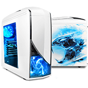 iBUYPOWER Chimera 5 Gaming Case - Snow Edition