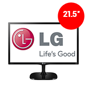 "22"" [1920x1080] LG 22MC57HQ-P LED Monitor -- 5ms response time + 60Hz refresh rate-Single Monitor"