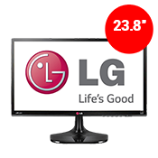 "24"" [1920x1080] LG 24MC57HQ-P LED Monitor -- 5ms response time + 60Hz refresh rate-Single Monitor"