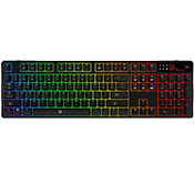 Tt eSPORTS Poseidon Z RGB Mechanical Gaming Keyboard [Brown Switches]-Cherry MX Brown Switches; 5 custom profiles and lighting effects