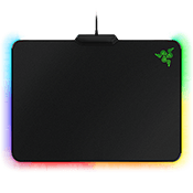 Razer Firefly-Hard RGB Gaming Mouse Mat-[355MM x 255MM x 4MM] Micro-textured Surface; 16.8M customizable Chroma lighting
