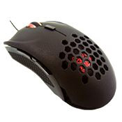 Tt eSPORTS Ventus X Gaming Mouse-Up to 5700 DPI; Red LED Backlighting