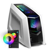 iBUYPOWER Revolt 2 Gaming Case - with Revolt 2 RGB Case Lighting