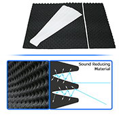 Sound Dampening Foam-Reduce System Noise