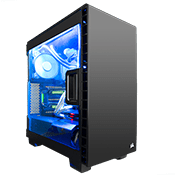 Corsair Carbide Series 400C Gaming Case - Black-Black