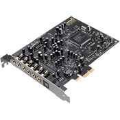 Creative Sound Blaster Audigy Rx [PCIE] -- 7.1 Channels, 192kHz/24-bit, 106 dB SNR