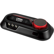 Creative Sound Blaster Omni Surround 5.1 [USB] -- 5.1 Channels, 96kHz/24-bit, 100 dB SNR