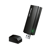 [802.11a/b/g/n/ac] TP-LINK Archer T4U AC1200 Wireless Dual Band USB Adapter-2.4GHz 300Mbps/5Ghz 867Mbps