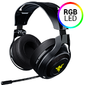 Razer ManO'War 7.1 Wireless Gaming Headset-Advanced 7.1 virtual surround sound engine and audio calibration