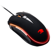 iBUYPOWER Gaming Optical Mouse-Multi-Color LED Lighting
