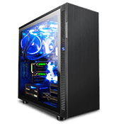 Thermaltake Suppressor F31 Tempered Glass Gaming Case-Black